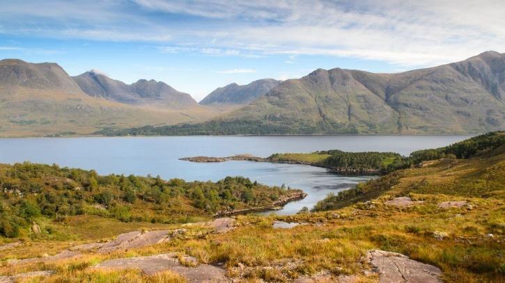 The fossil was found at Loch Torridon in the northwest Scottish Highlands.