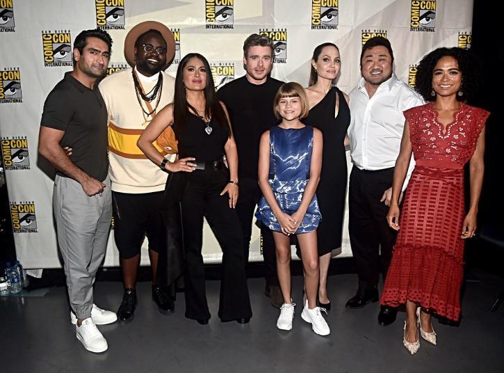 Cast of Marvels Eternals / Twitter