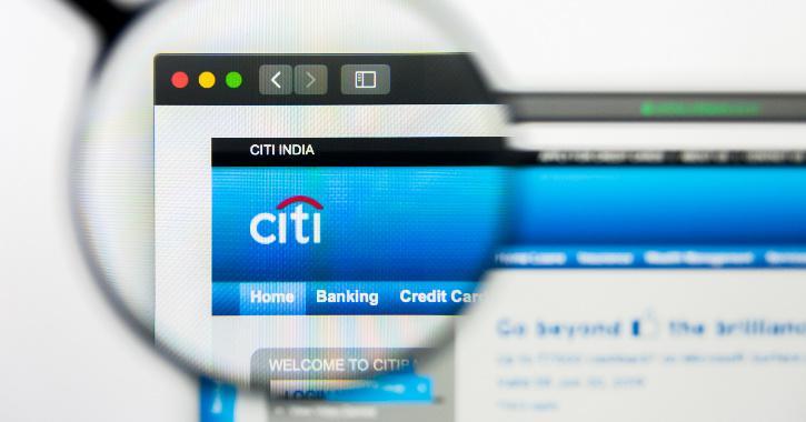 CitiBank website