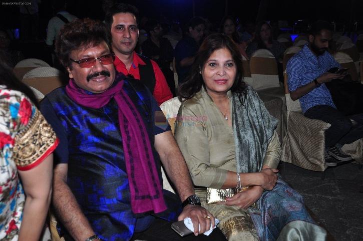 Shravan Rathod with his wife / ANI