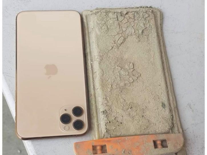 Lost iPhone Found Taiwan Dry Lake