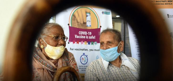 Vaccination drive in India