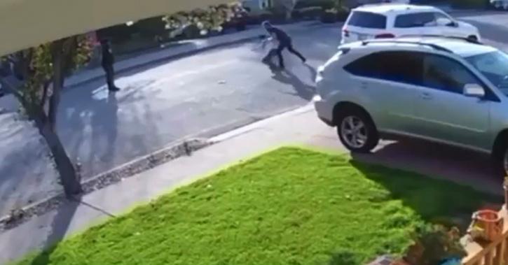 Man body-slams robber