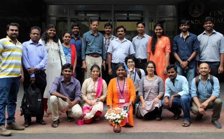 Dr Micheal Gromiha with his fellow researchers at IIT-Madras