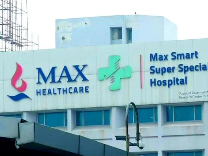 max hospital oxygen
