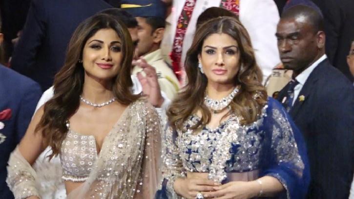 Shilpa Shetty and Raveena Tandon / Viral Bhayani