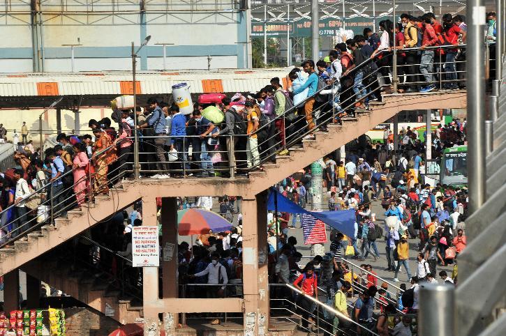 migrant workers lockdown delhi