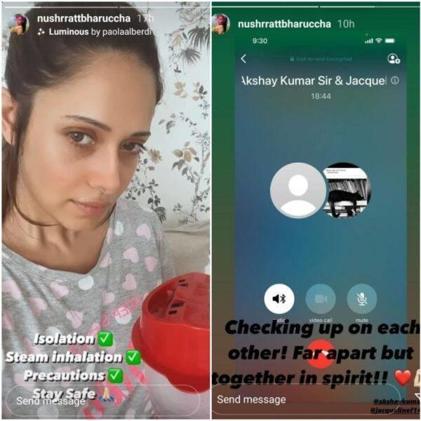 Akshay Kumar Hospitalised, His Ram Setu Co Stars Nushrat & Jacqueline Stay In Touch With Him Says Together In Spirit