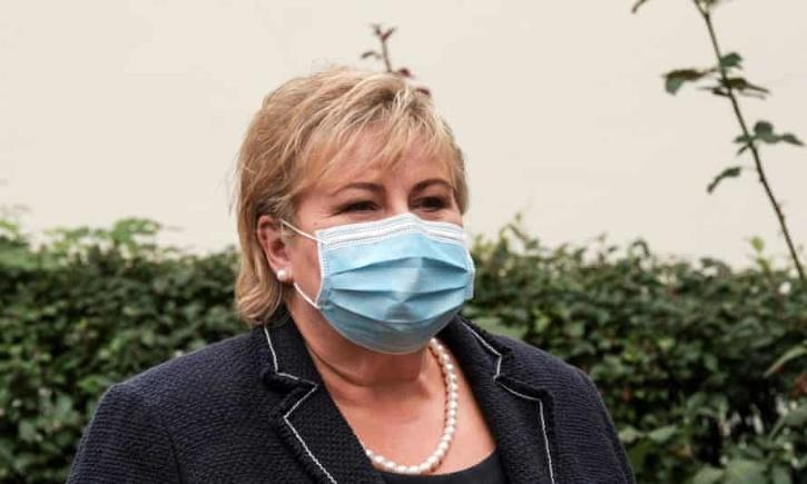 Norway PM fiend for breaking Covid rules