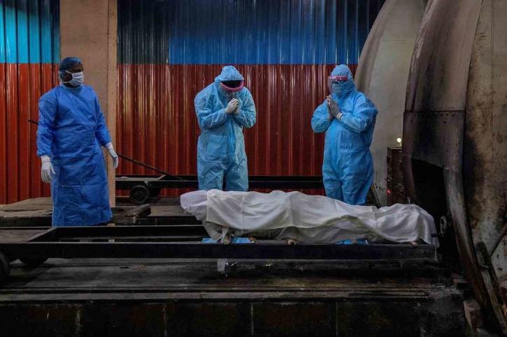 vadodra dead bodies covid
