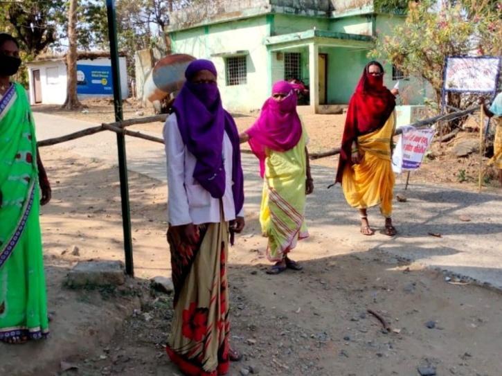 women-MP village