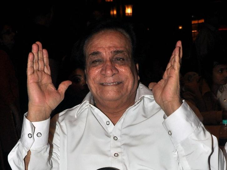 A smiling photo of Kader Khan who was born in Afghanistan.