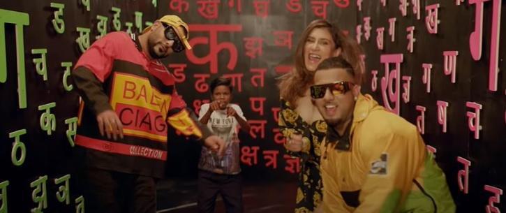 The song features internet sensation Sahdev Dirdo along with Badshah, Aastha Gill, and musician Rico.