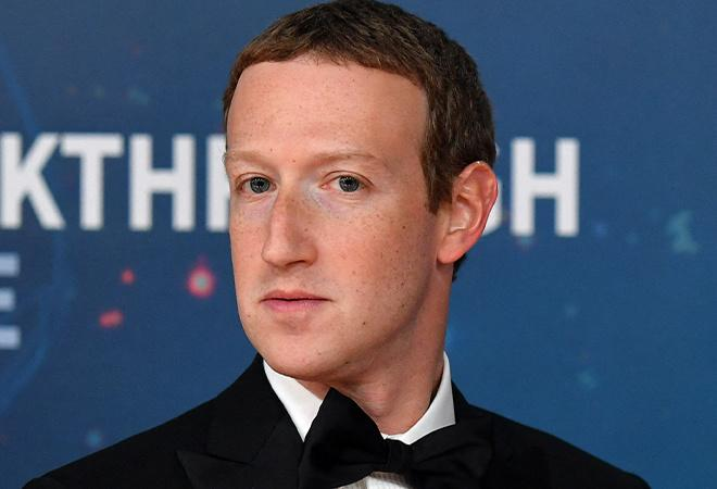 Before and after of Mark Zuckerberg