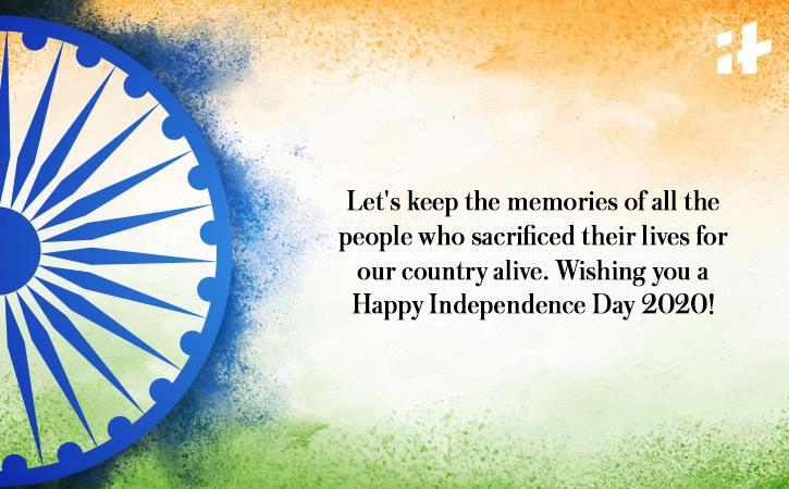 Happy Independence Day 2021 messages