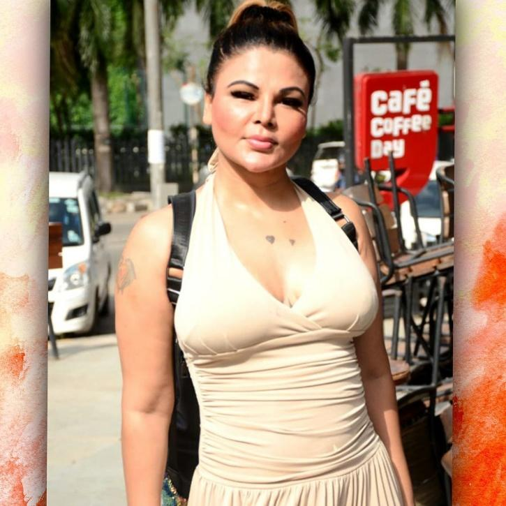 Only Rakhi Sawant can pull off such stunts and grab eyeballs.