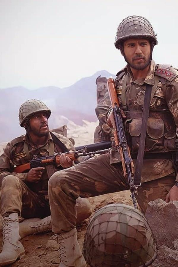Shooting a war film is always a challenging proposition for filmmakers and actors.