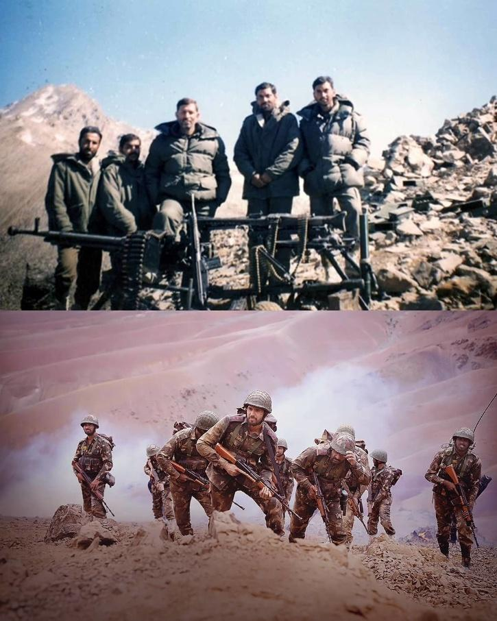 The team of Shershaah shot pivotal portions of the film in Ladakh. The result of everyone