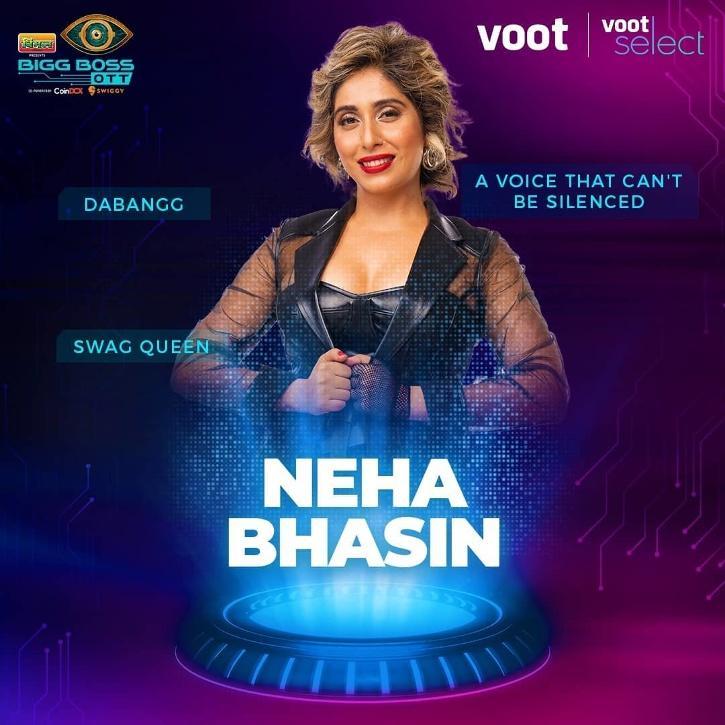 Apart from Neha, other contestants are Shamita Shetty, Raqesh Bapat, Zeeshan Khan, Ridhima Pandit, Karan Nath, Urfi Javed, Divya Agarwal, Akshara Singh, Pratik Sehejpal, Nishant Bhatt, Muskaan Jattana (Moose Jattana), and Milind Gaba.