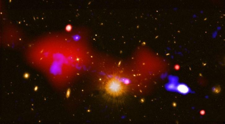 Indian Scientists Spot Three Supermassive Black Holes Merging In Far-Off Cosmos