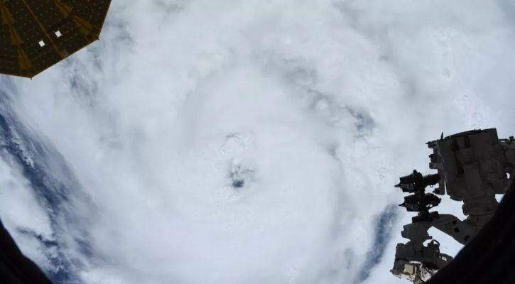 Astronauts Share Terrifying Images Of Hurricane Ida From Space As It Hits US
