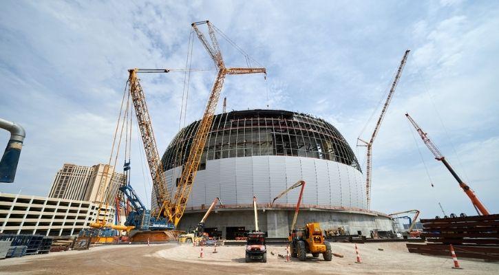 Las Vegas is Building the World's Largest Sphere