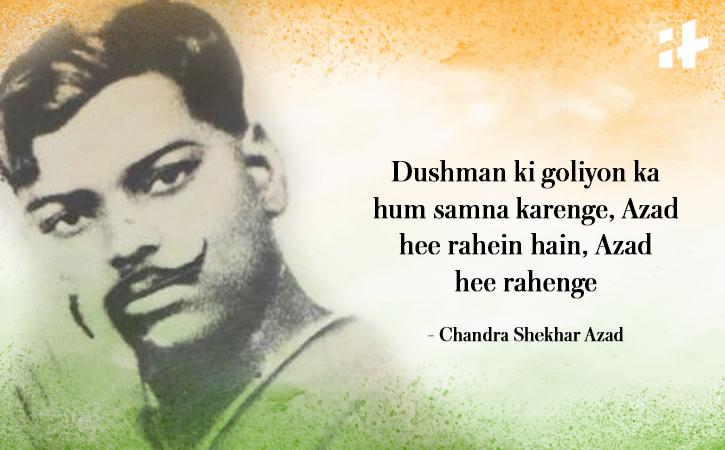 Chandra Shekhar Azad quote