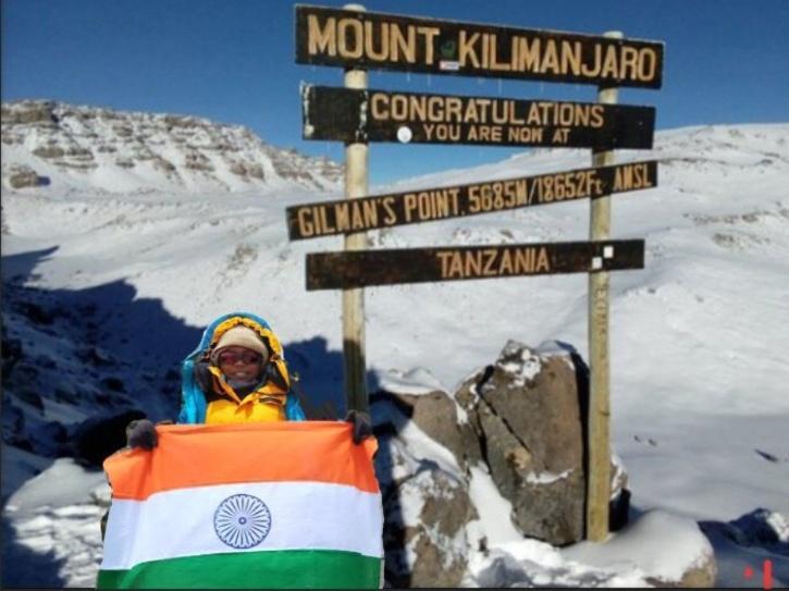 Kadapala Rithvika Sri - Youngest Indian To Climb Mt. Kilimanjaro