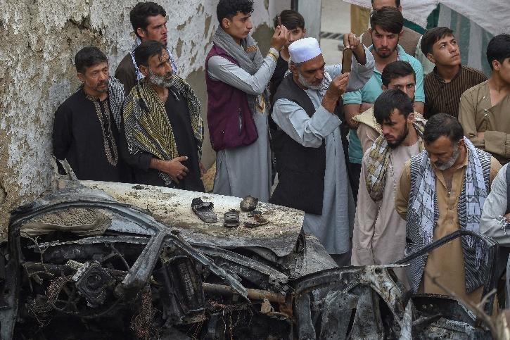 Khuwja Bughra, US Airstrike Kabul