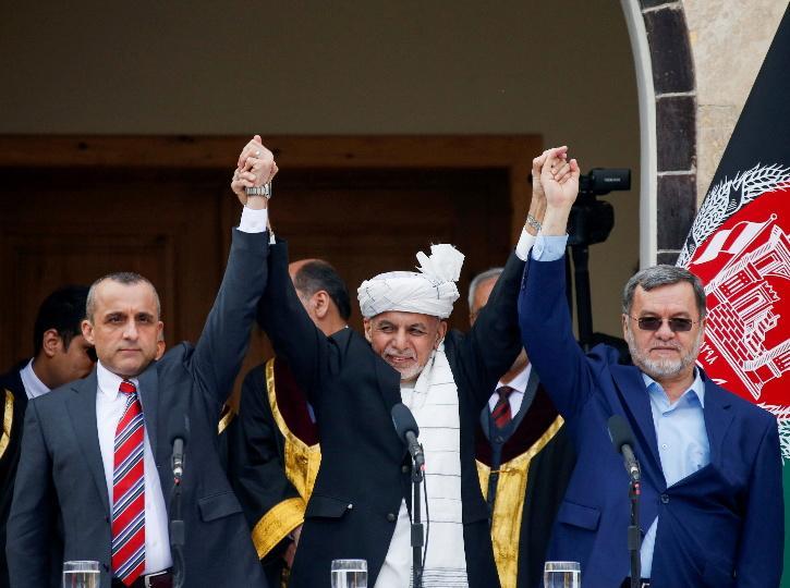 Vice President Amrullah Saleh,