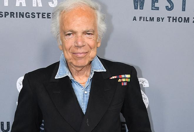 Before and after picture of Ralph Lauren