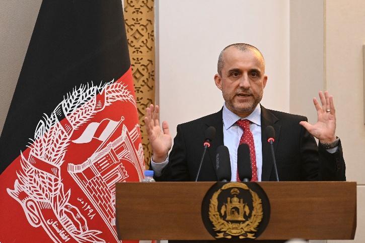 Vice President Amrullah Saleh