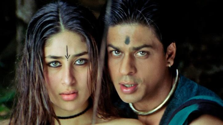 Kareena Kapoor and Shah Rukh Khan's fresh pairing was the major highlight of this movie! Again, songs were a mega-hit, and while the film flopped, it's still remembered for its blockbuster songs!