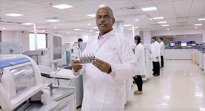 Arokiaswamy Velumani founder, chairman and managing director of Thyrocare Technologies Ltd.