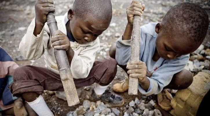 african children mining cobalt