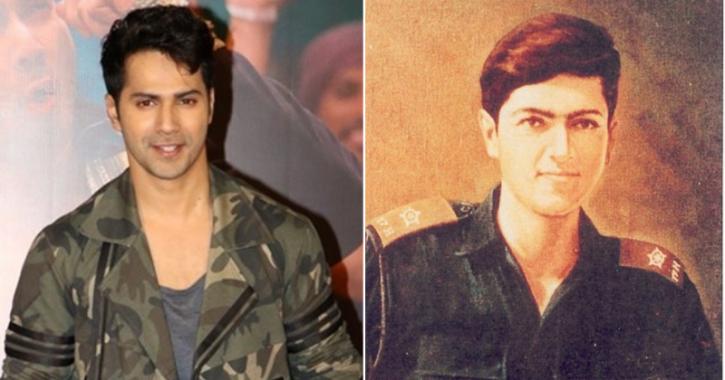 Varun Dhawan in Ekkis, a biopic on Param Vir Chakra winner and second Lieutenant Arun Khetarpal.