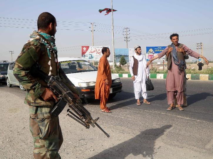 Afghan Taliban Attack herat province