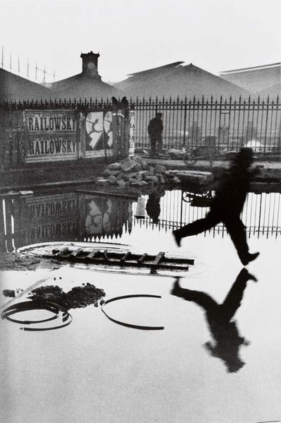 Behind the Gare Saint-Lazare by Henri Cartier-Bresson, 1932