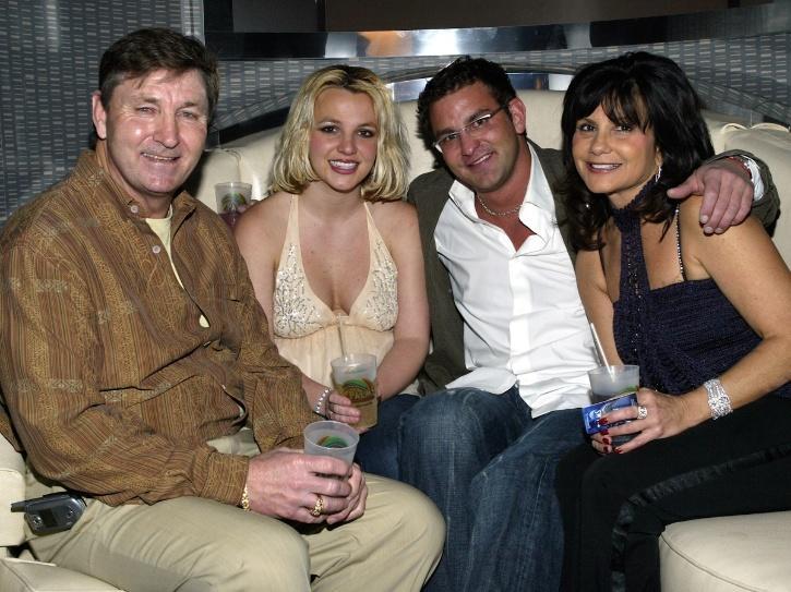 Britney Spears family.