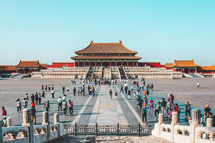 China never been colonised by european