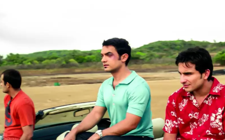 A beautiful frame from Dil Chahta Hai