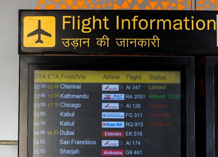 kabul india airport