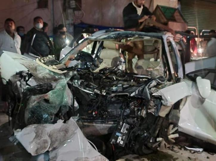 Bengaluru Audi Crash