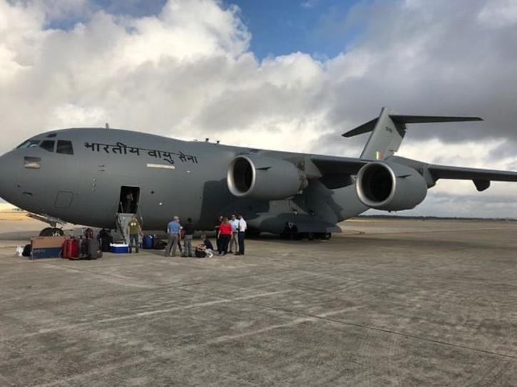 India Evacuation Flight