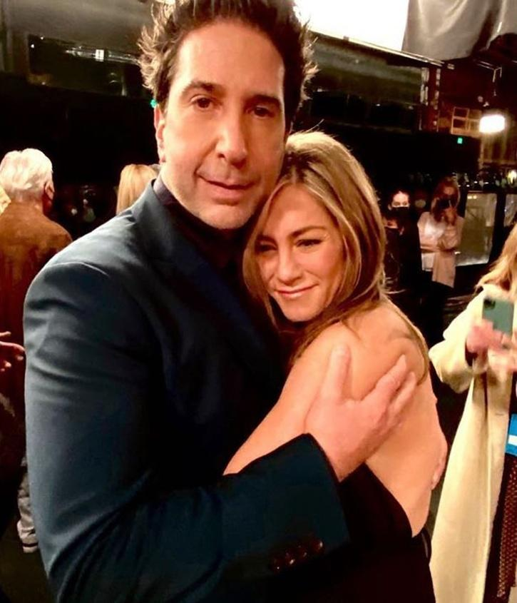 Actors David Schwimmer and Jennifer Aniston, who rose to fame with their undeniable chemistry in the hit sitcom Friends, are rumored to be dating each other in real life now.