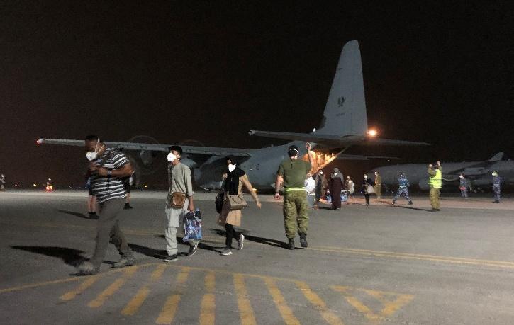 Afghan Repatriation Flights Australia