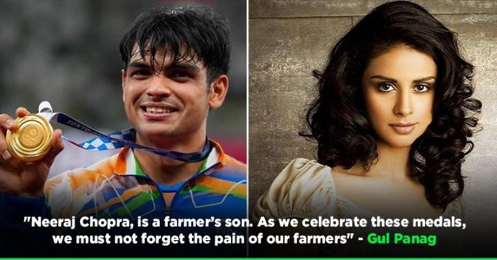 Gul Panag Reminds Everyone The Pain Of Protesting Farmers By Saying Neeraj Chopra's Is A Farmer's Son