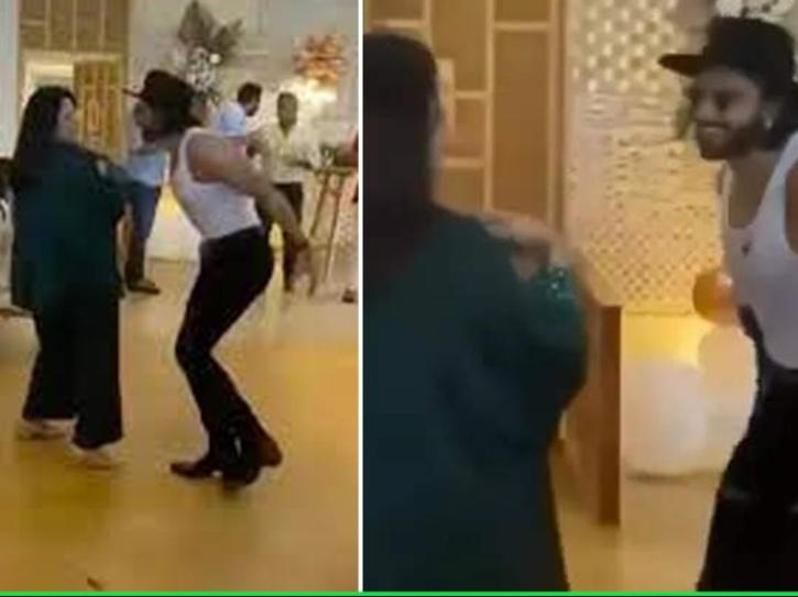 Ranveer Singh's Mom & Dad Are Way Cooler Than Him & This Dance Videos Are Proof