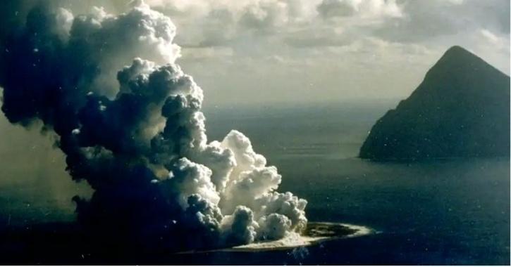 japan niijima volcano