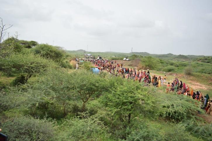 Save Sangnara Forest protest